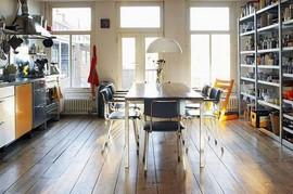 キッチン,ダイニング,食器棚,窓